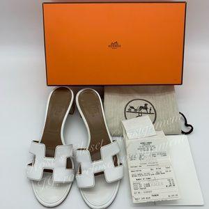Authentic Hermès Oasis Sandals